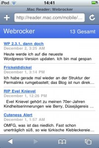 mobile.safari  - BadBehavior aus