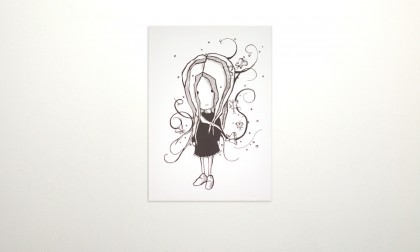 Jane One - Digital Ink On Canvas, 2008. 100x70cm (c) janesnation.com