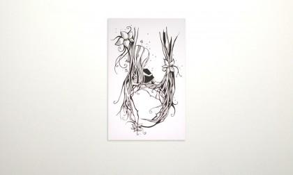 Jane wo - Digital Ink On Canvas, 2008. 100x70cm (c) janesnation.com