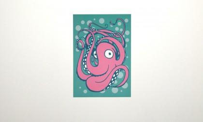 Oktoputh - Digital Ink On Canvas, 2008. 100x70cm (c) wondertom.de