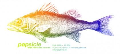 pøpsicle Live @Museumsuferfest, Frankfurt am Main 29.8.2009 - 17:00h