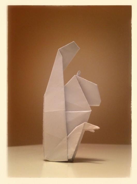 Origami Squirrel