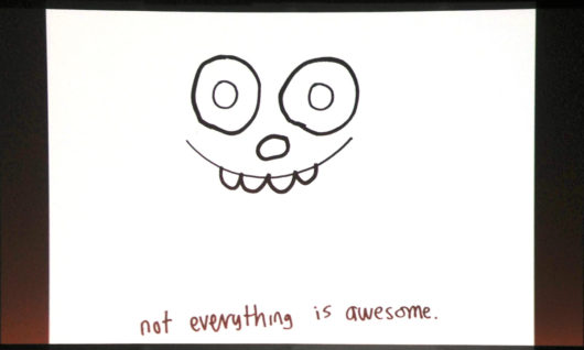 Not Everything is Awesome - slide by John Burgerman #btconf 2014