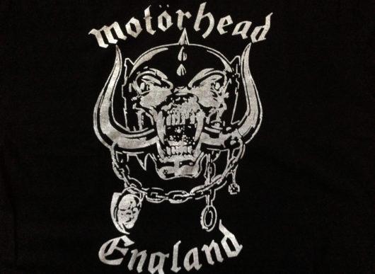 Mein Motörhead T-Sirt mit dem Snaggletooth 'Warhog' Logo