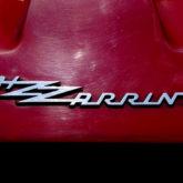 """Bizzarrini"" - Chrom auf Rot"