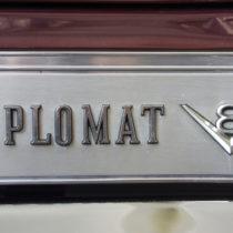 """""""Diplomat V8"""" - Chrom auf Aluminium"""