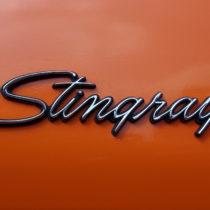 """""""Stingray"""" - Chrom/Schwarz auf Orange"""