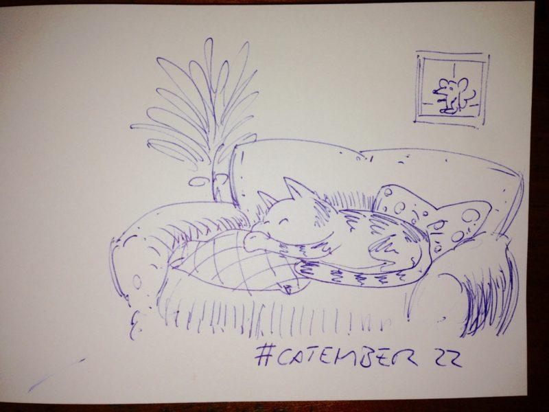 #catember 22