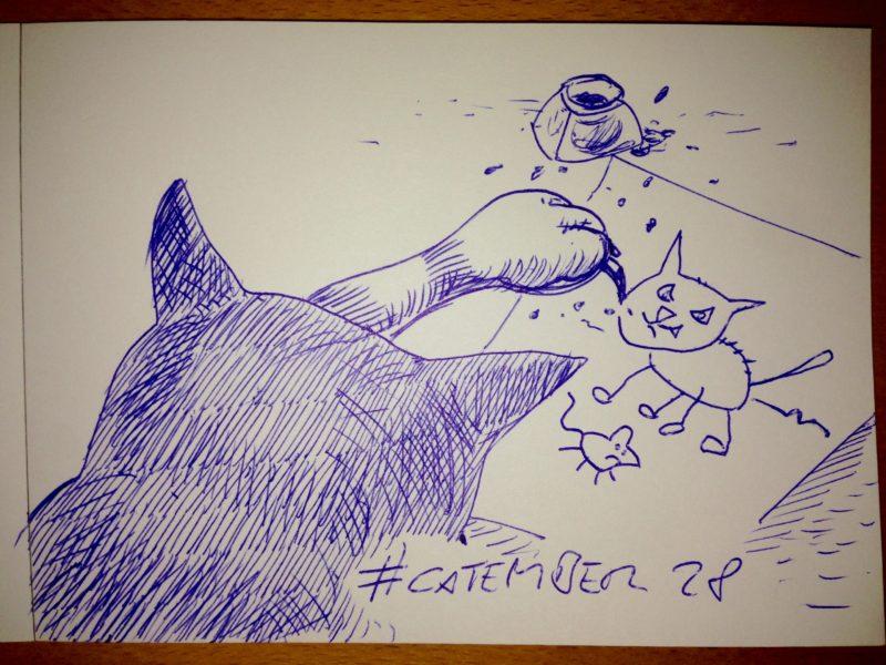 #catember 28