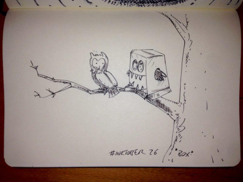 Inktober #26 - Box