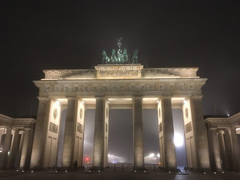 Brandenburger Tor im Nebel